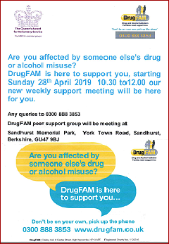 Drugfam poster - clicks through to a PDF